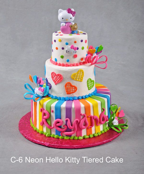 hello kitty tiered cakes Google Search hallo kitty Pinterest