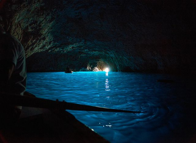 Isle Of Capri Blue Glow Moon Pool Water Photography H2o Mermaids