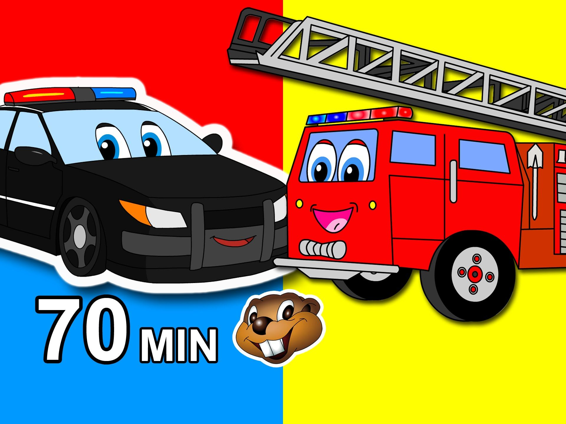 Vehicles Go Vroom Kids Compilation Cars, Trucks, Trains