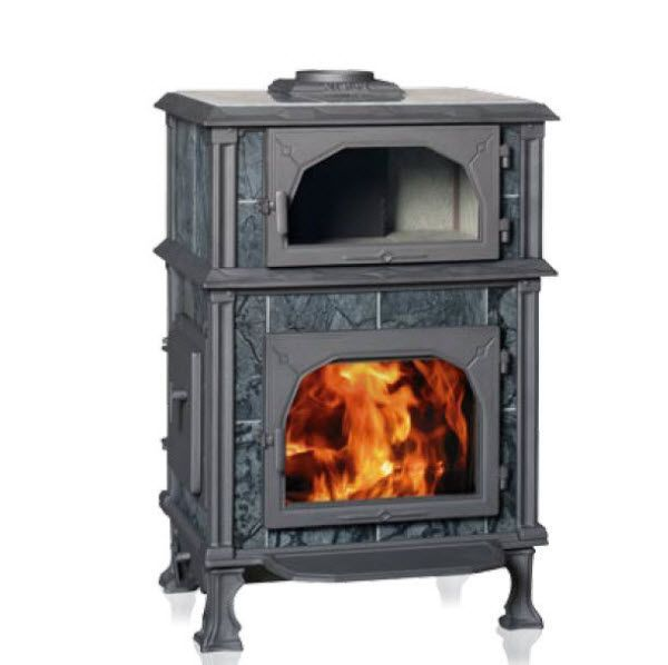 Superior Traditional Wood Burning Stove (soapstone, With Oven) VISION SERIES: VISION  GOURMET