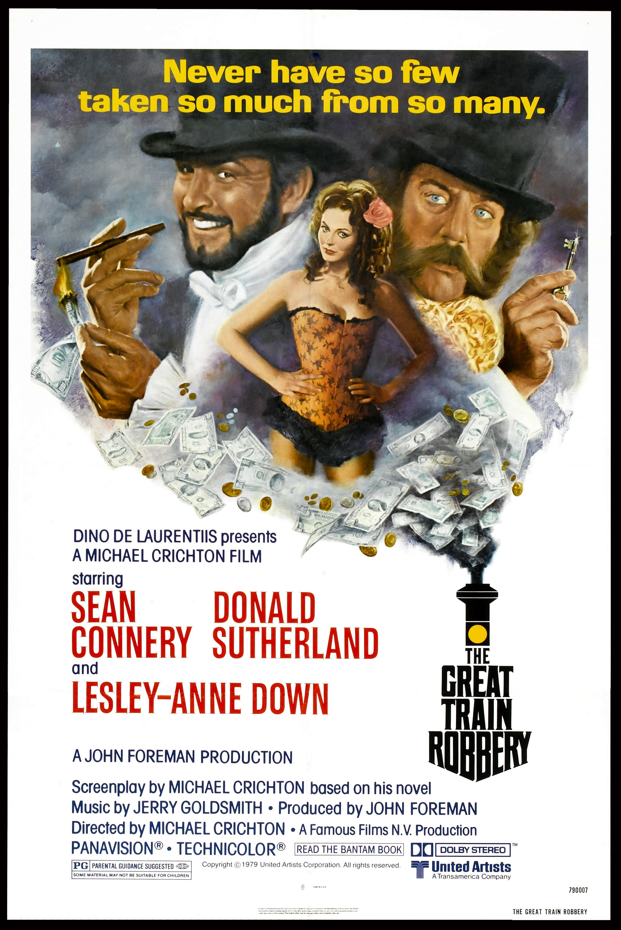 The Great Train Robbery (1978) poster (Restoration performed by Darren  Harrison)