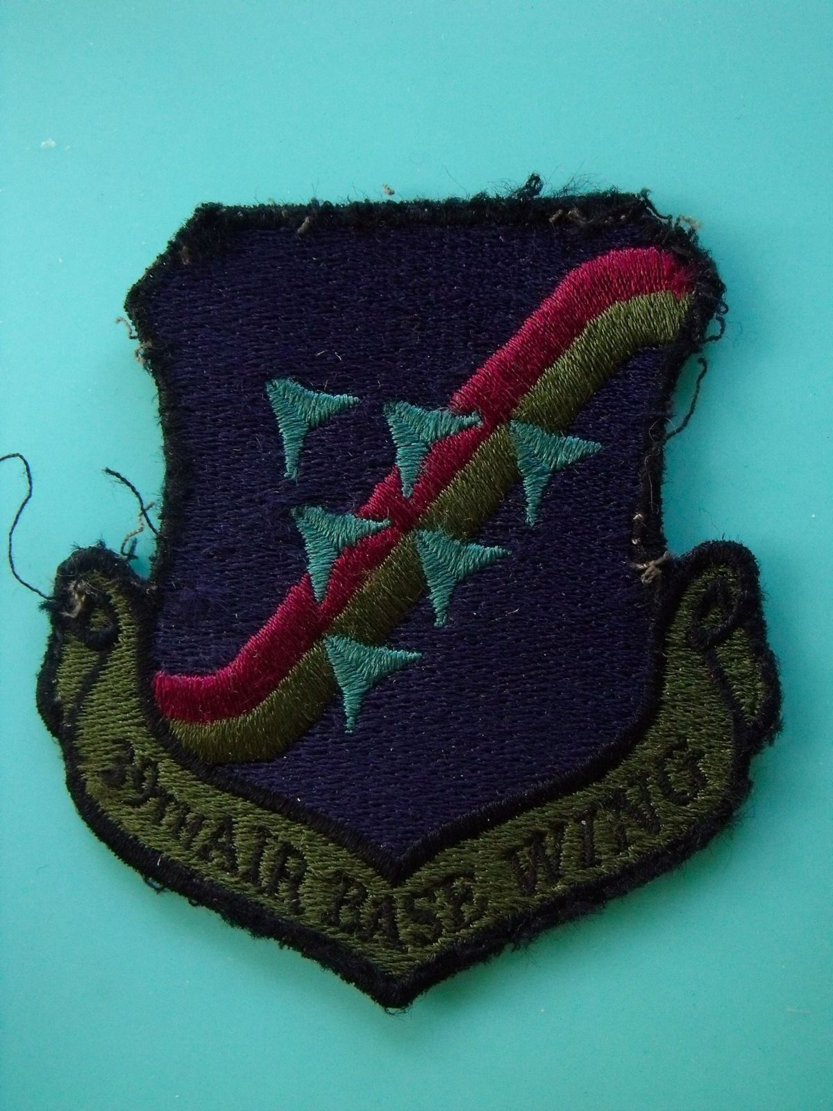 39th AIR BASE WING SQUADRON USAF ORIGINAL SALTY USED AIR