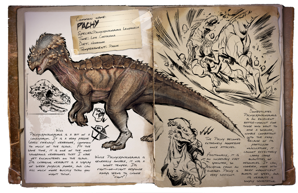 Ark Survival Evolved Dossiers Pachy By Dinosuarjosh Deviantart Com On Deviantart Ark Survival Evolved Game Ark Survival Evolved Creatures