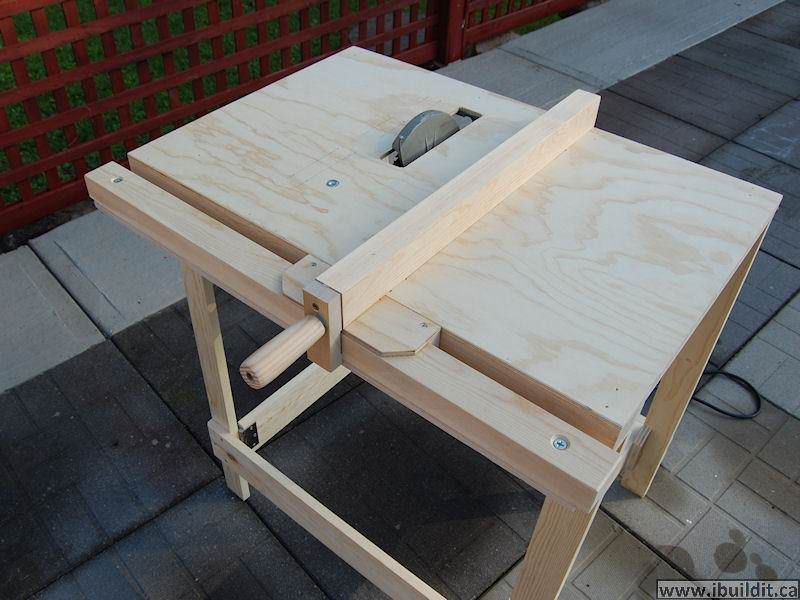 diy table saw fence. utility table saw by john heisz -- this tool provides a more compact and mobile diy fence