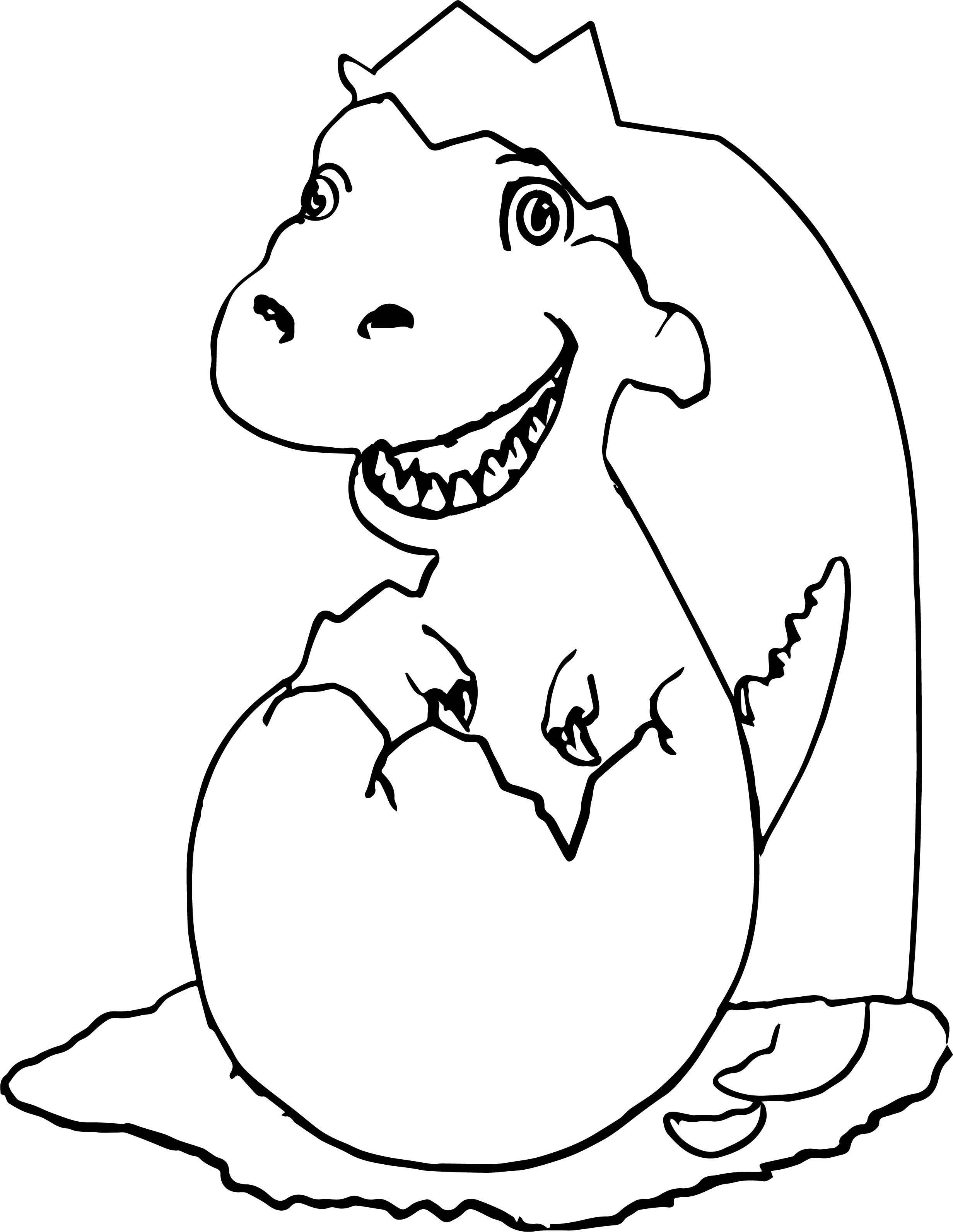 New Baby Dinosaur Coloring Pages Dinosaur coloring pages