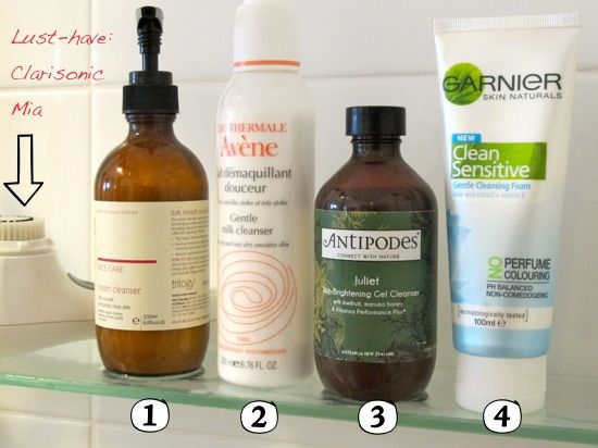 Gentle face cleansers