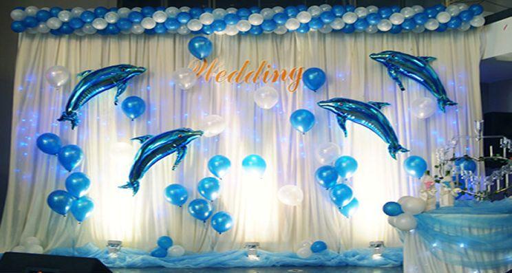Azul / Rosa Dolphin Globo Cumpleaños Boda Fiesta Helio Decoración | Hogar y jardín, Tarjetas y suministros para fiestas, Suministros para fiestas | eBay!