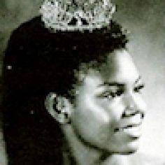 As Miss Iowa, Cheryl Brown became the  first African