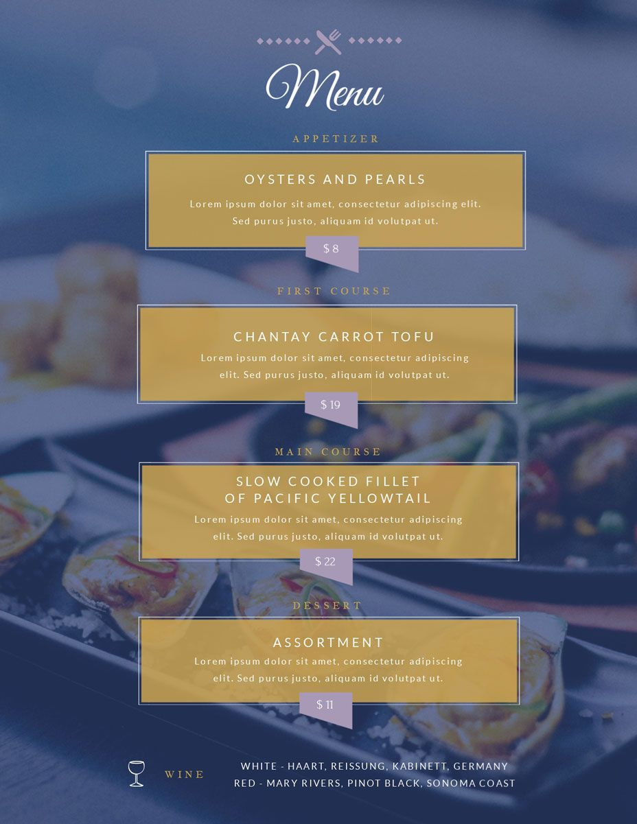 The Terrific Free Menu Maker Menu Creator Visme Inside Frequent Diner Card Template Digital Imagery Below Is Other In 2020 Menu Maker Free Menu Maker Menu Creator