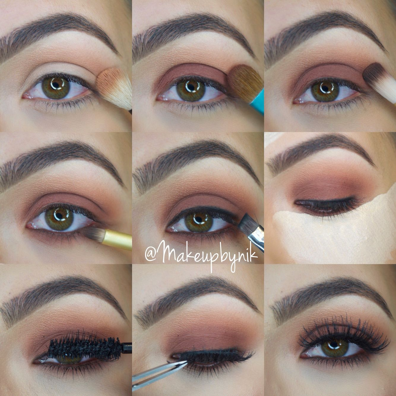 How to make Smokey Ice for green eyes: step-by-step instruction. Makeup for green eyes