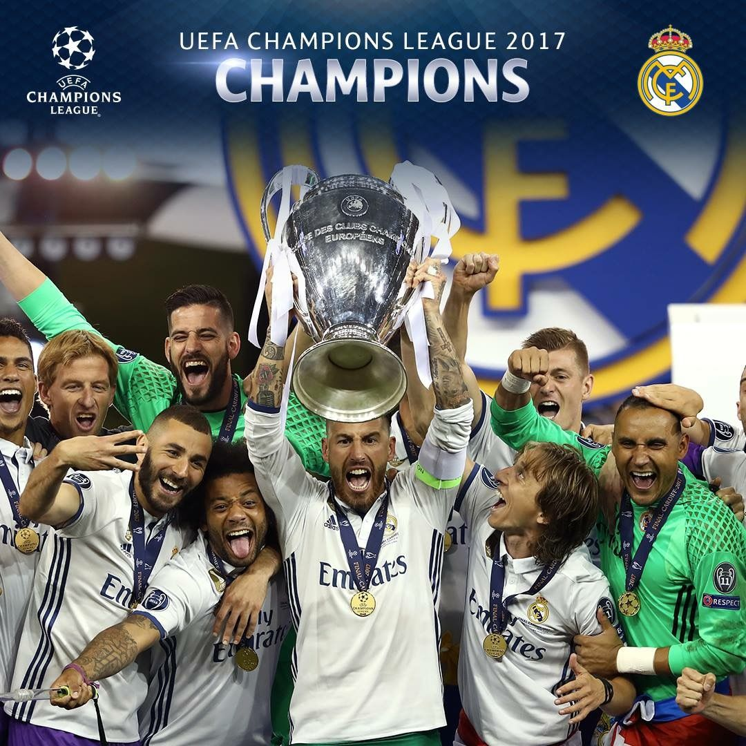 Real Madrid Champions League Champions