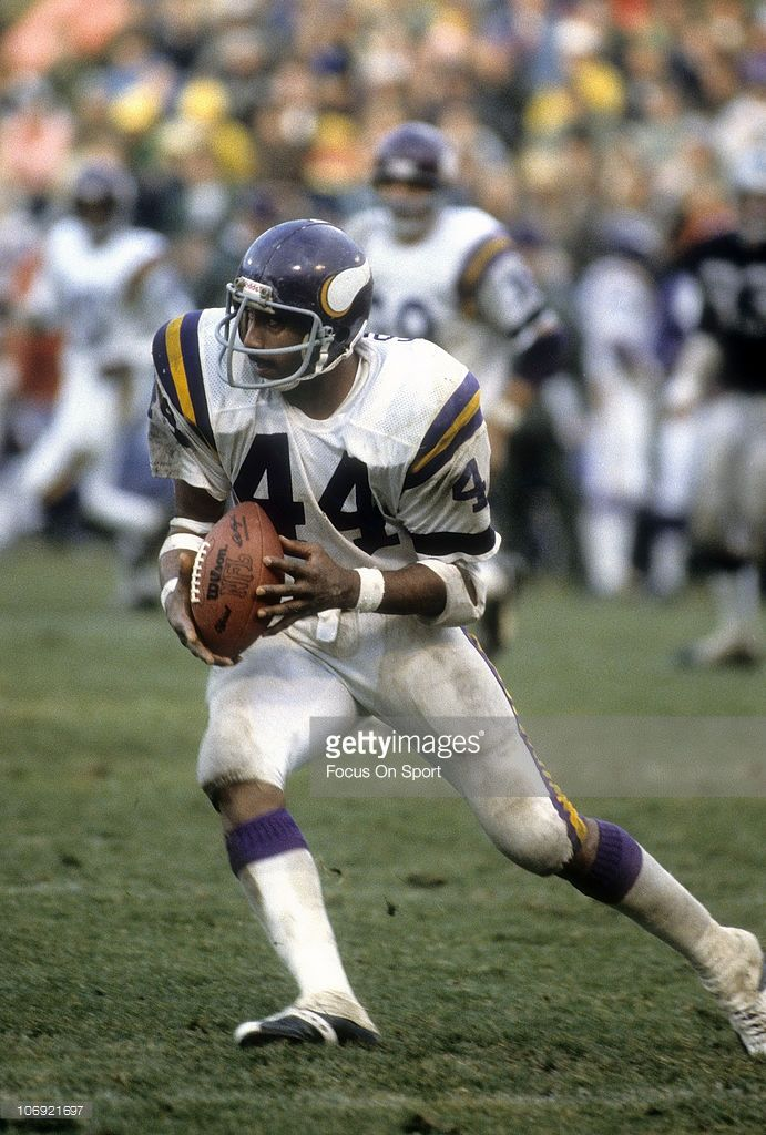 new concept e7ccb 32452 Rb Chuck Foreman #44 | Running Backs | Vikings football ...