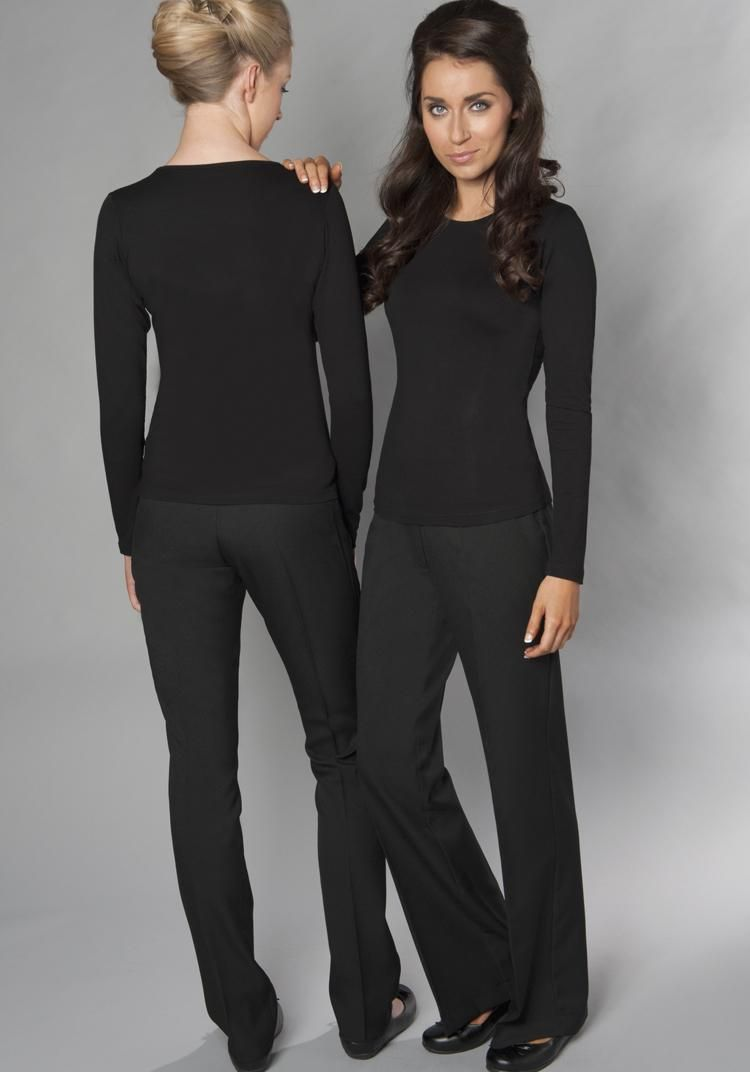 Pin by court thelen on new office uniform ideas in 2019 for Spa uniform fashion