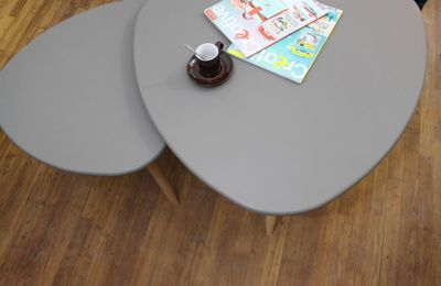 Diy Table Basse Tripode Gigogne Staliukai Pinterest