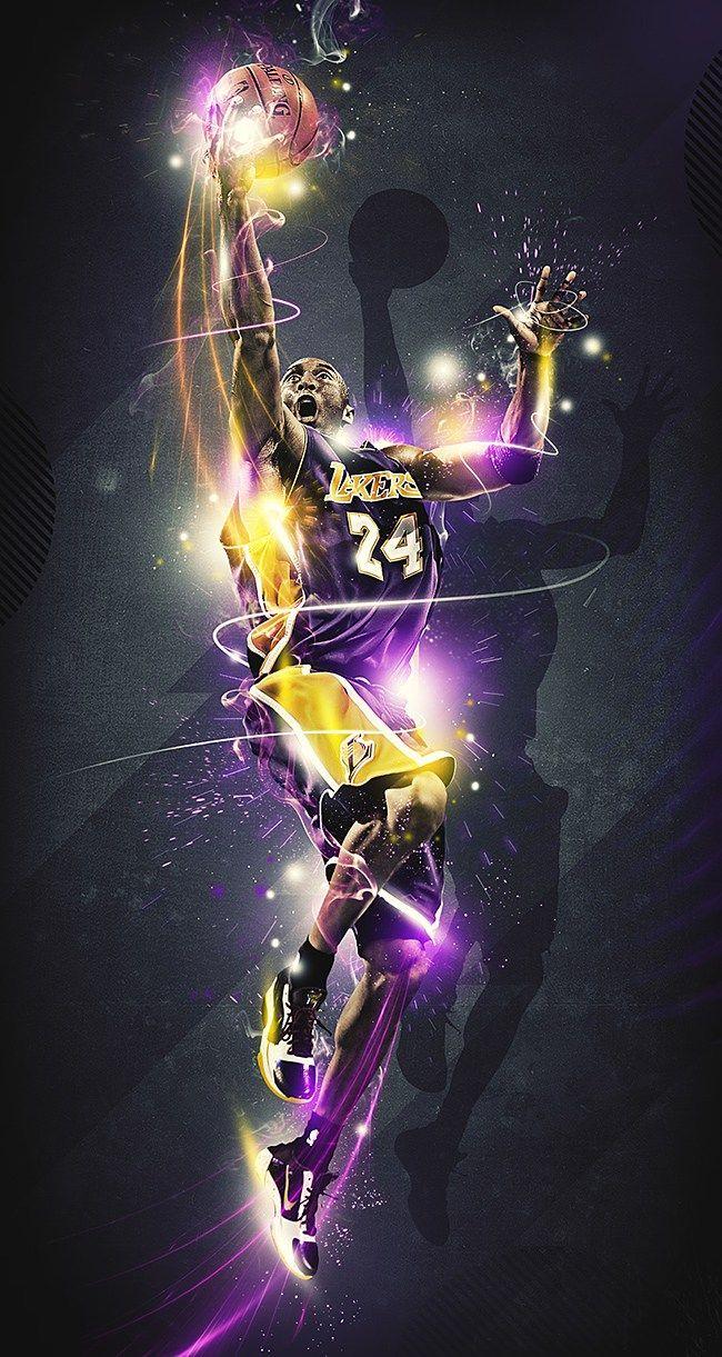 Kobe Bryant Aka The Black Mamba Kobe Bryant Poster Kobe Bryant Wallpaper Kobe Bryant Nba