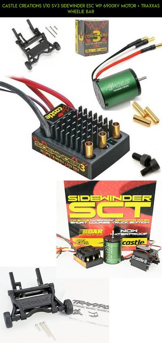Castle Creations 1/10 SV3 Sidewinder ESC WP 6900kv Motor +