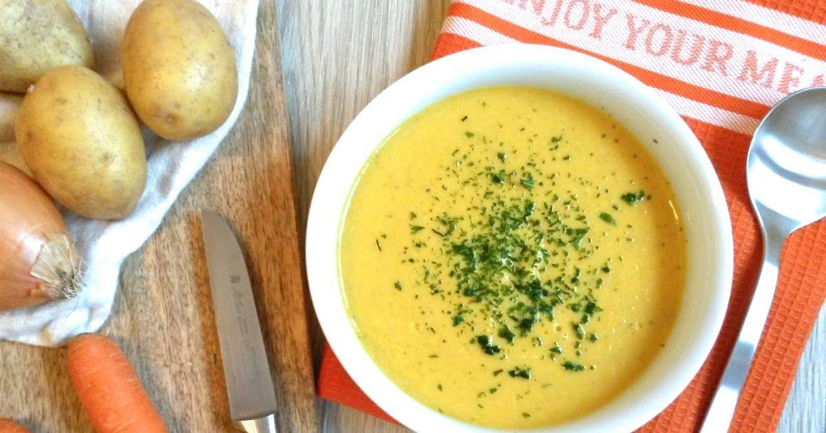 suppe, kartoffelsuppe, möhrensuppe, thermomix, schnelle suppe ... - Gesunde Schnelle Küche