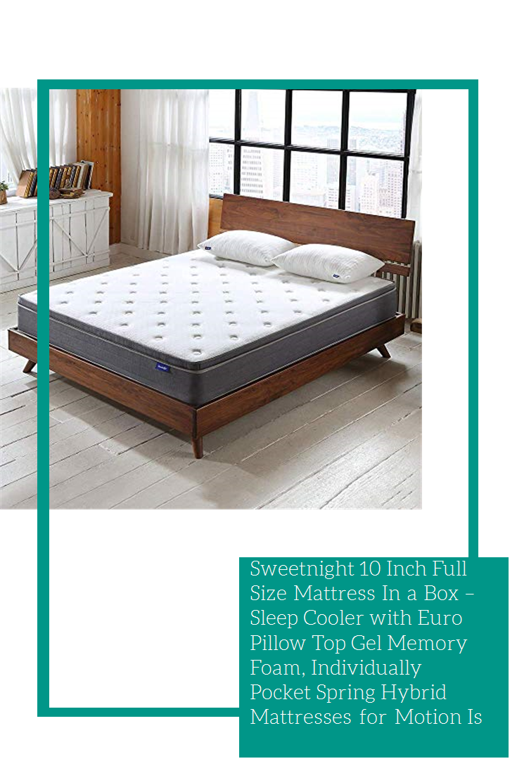 Sweetnight 10 Inch Full Size Mattress In a Box Sleep