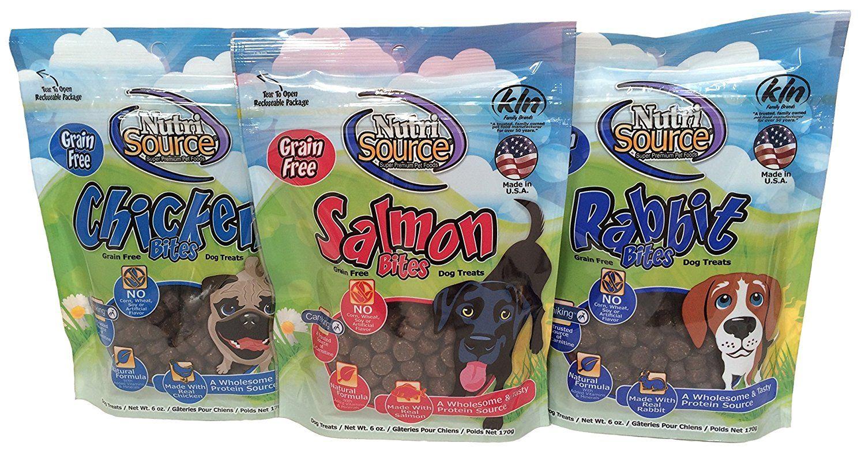 NutriSource GrainFree Soft Bites 3 Flavor Treat Bundle
