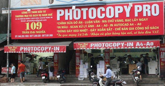 Chia sẻ một số kinh nghiệm mở cửa hàng dịch vụ Photocopy