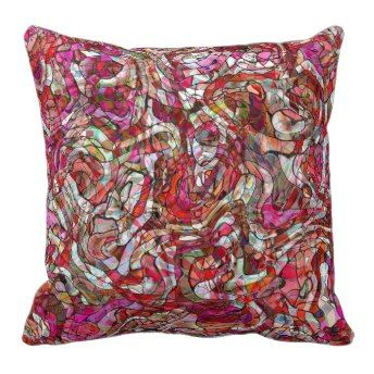 Pink Whirl Pillows