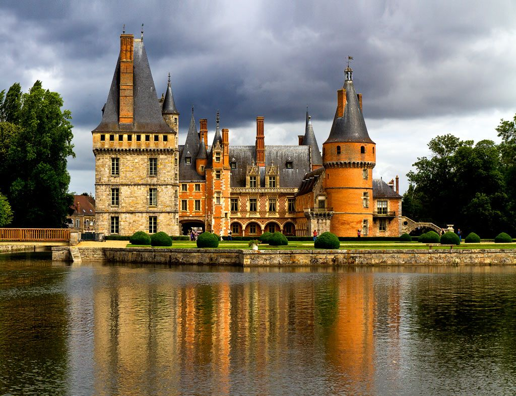 Château de Maintenon, near Chartres, is a private residence of the second spouse…