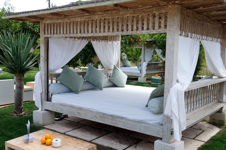 Lounge Bed Spain Design Bali Decor Outdoor Beds