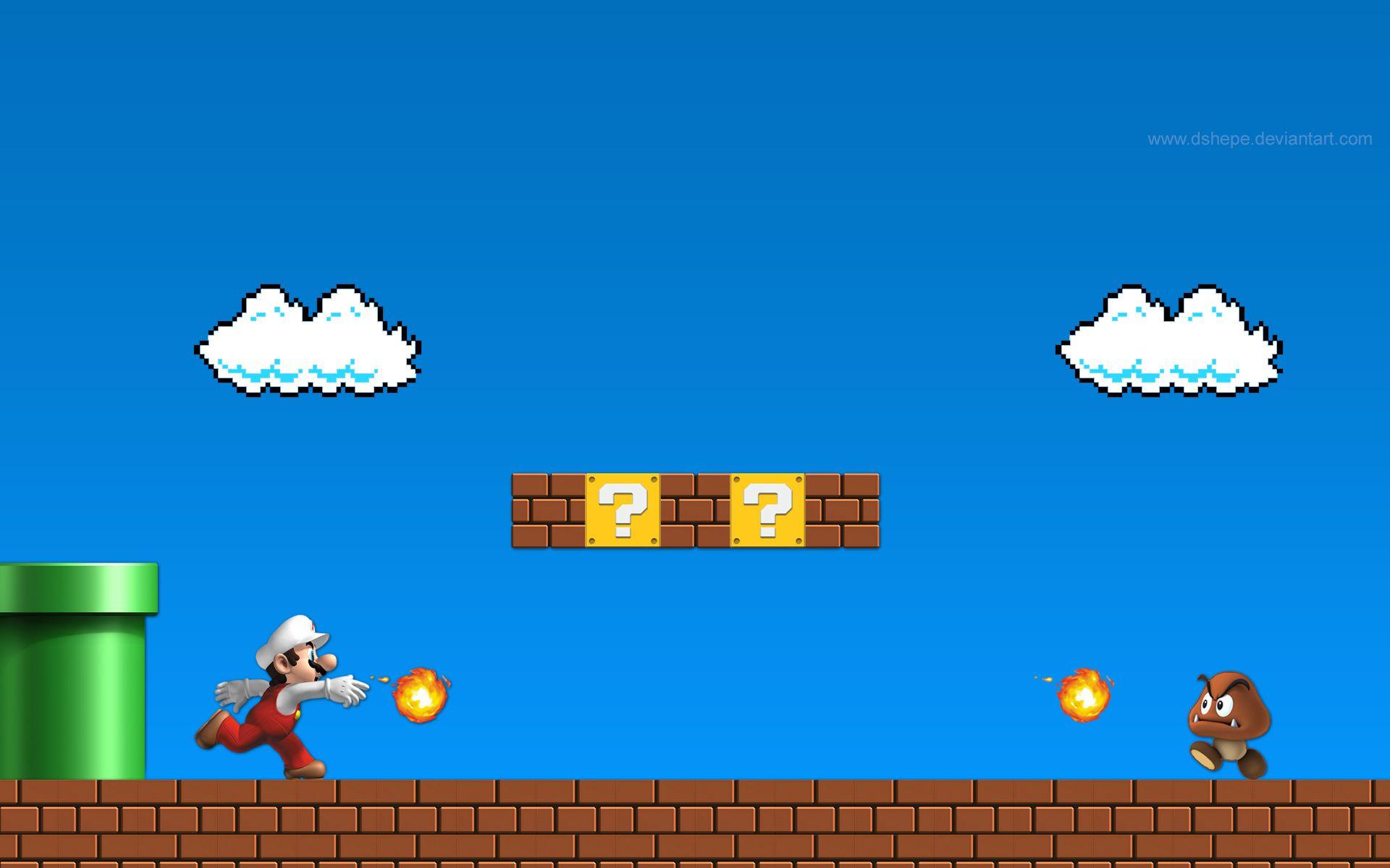 Http Www Pixelstalk Net Wp Content Uploads 2016 04 Backgrounds Super Mario Bros Hd Wallpapers Jpg Mario Bros Super Mario Bros Mario