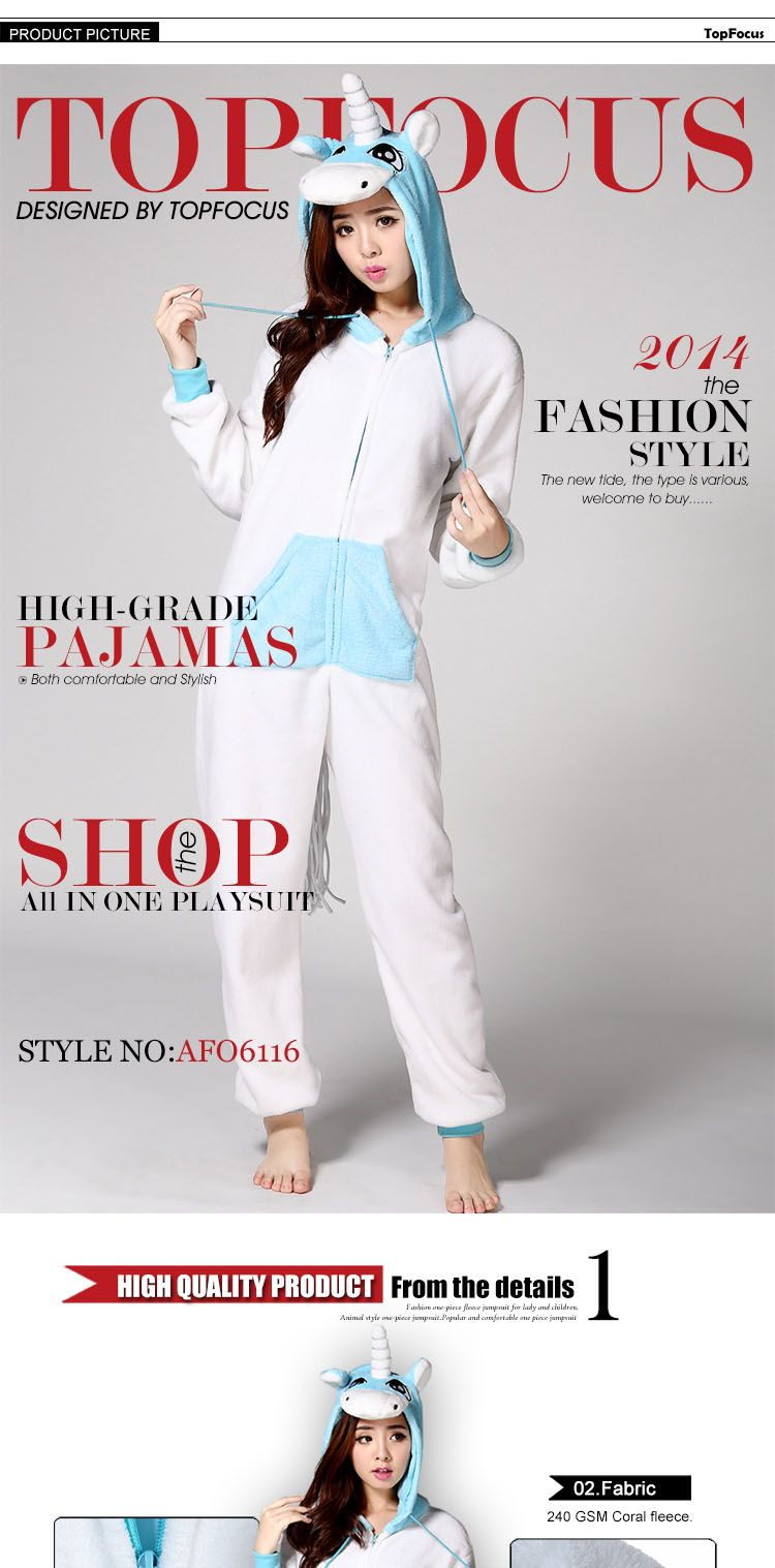 64fc36b4d36c Plus size Pyjamas Footless Custom Hooded Unicorn Kigurumi Cheap Couple Sexy  Adult Animal Onesie