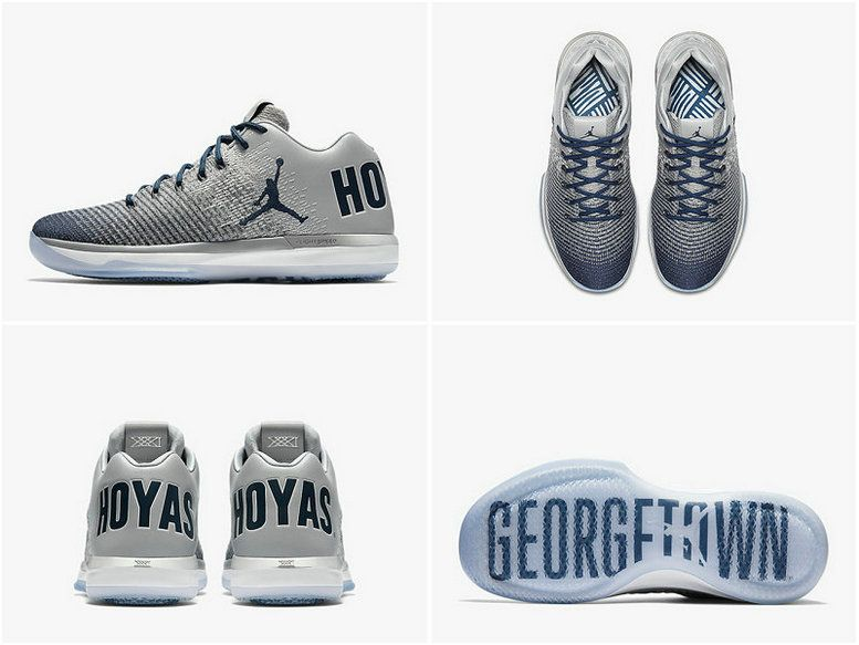 timeless design 2dc56 0774f Youth Big Boys Air Jordan XXX1 Low Georgetown Wolf Grey ...