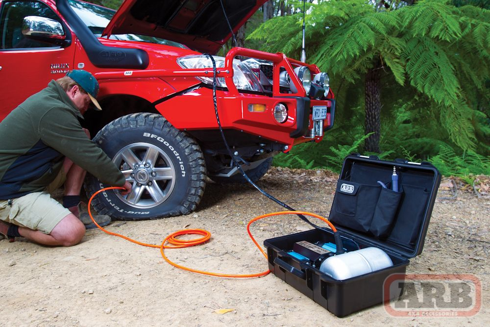 Images of ARB Twin High Performance 12 Volt Portable Air