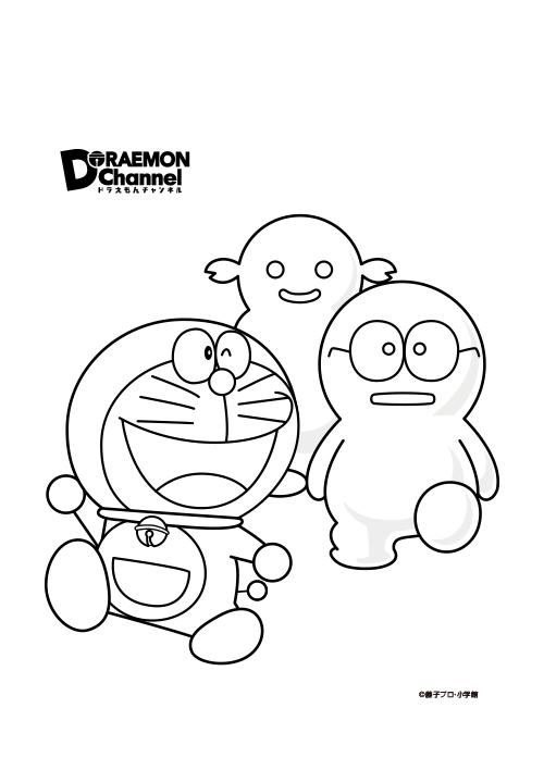 ぬりえダウンロード ドラえもんチャンネル In 2020 Doraemon Color Vault Boy