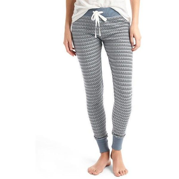 Gap Women Soft Cotton Print Leggings ($50) ❤ liked on Polyvore ...