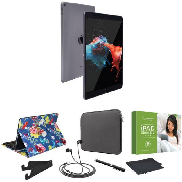 """Apple iPad Air 10.5"""" 64GB Wi-Fi w/ Accessories& Voucher - QVC.com"""