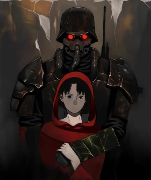 """""""We are not men disguised as mere dogs, we are wolves disguised as men.""""  - Jin-Roh: The Wolf Brigade"""
