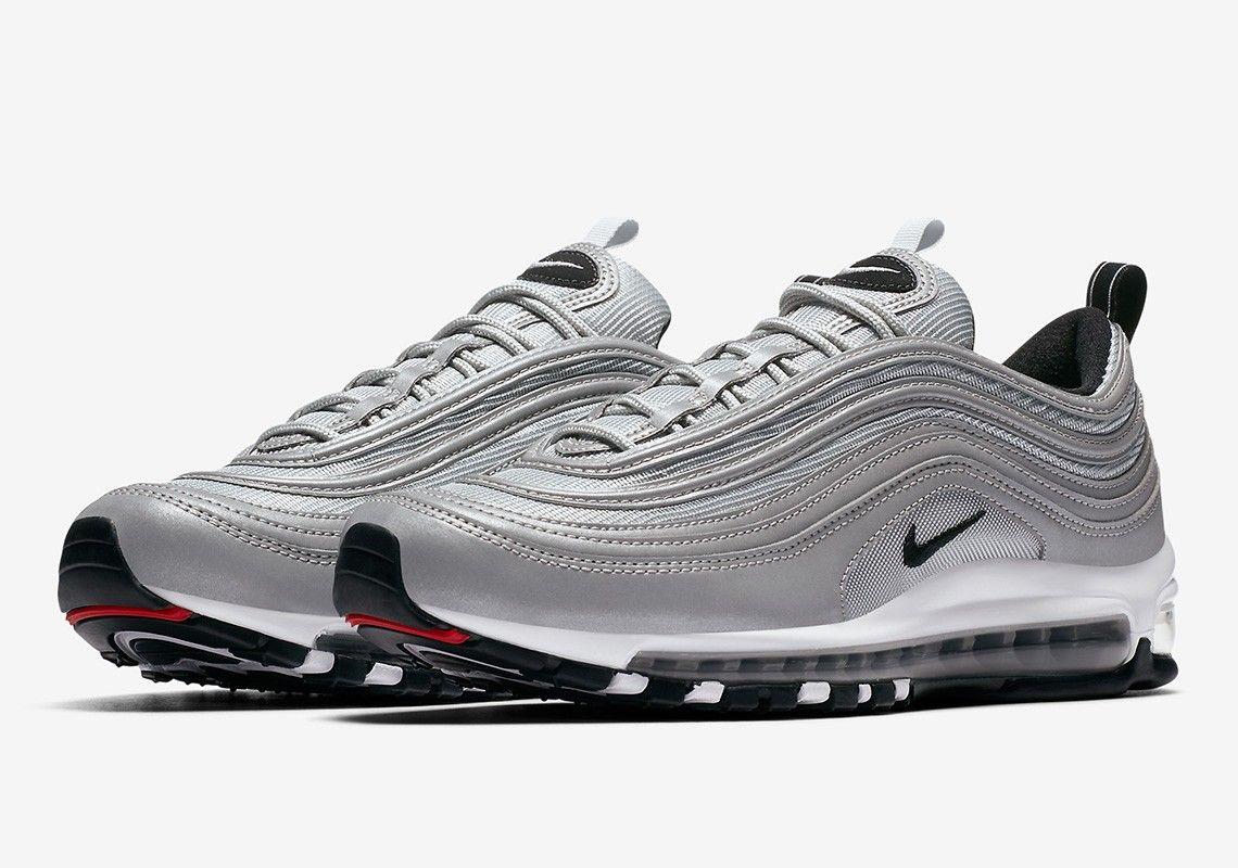 quality design 24f23 c4369 Nike Air Max 97 Reflect Silver Pure Platinum Wolf Grey Black 312834-007