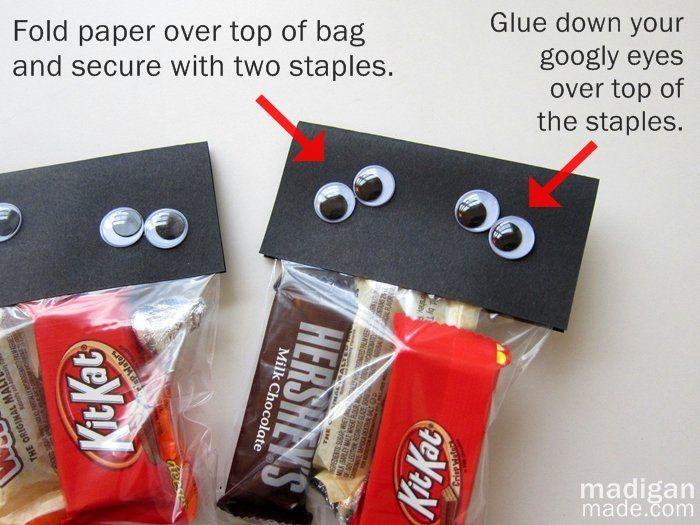 cute halloween candy bag ideas cartoonview co