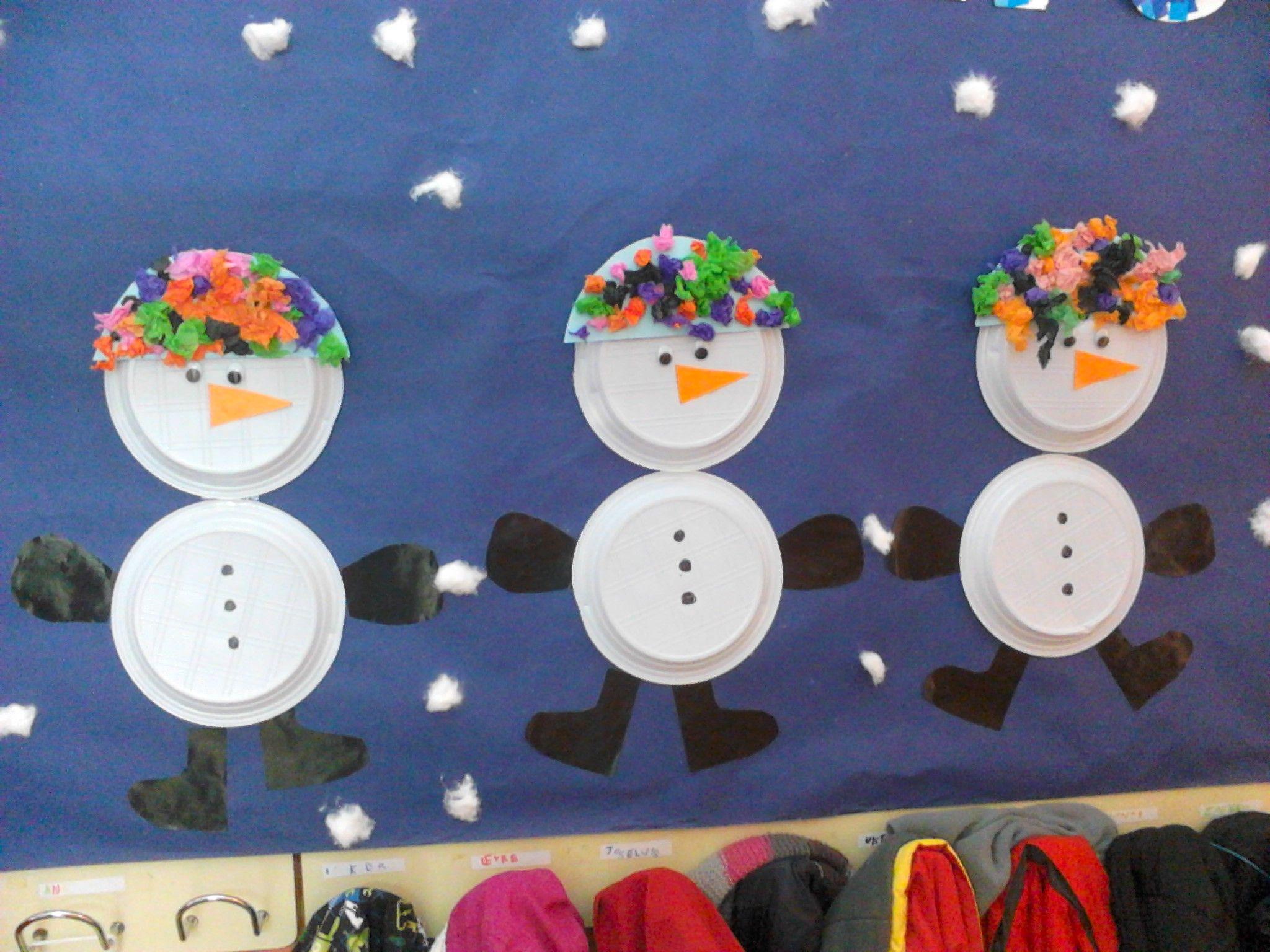 Murales invierno para educacion infantil buscar con - Murales decorativos de navidad ...