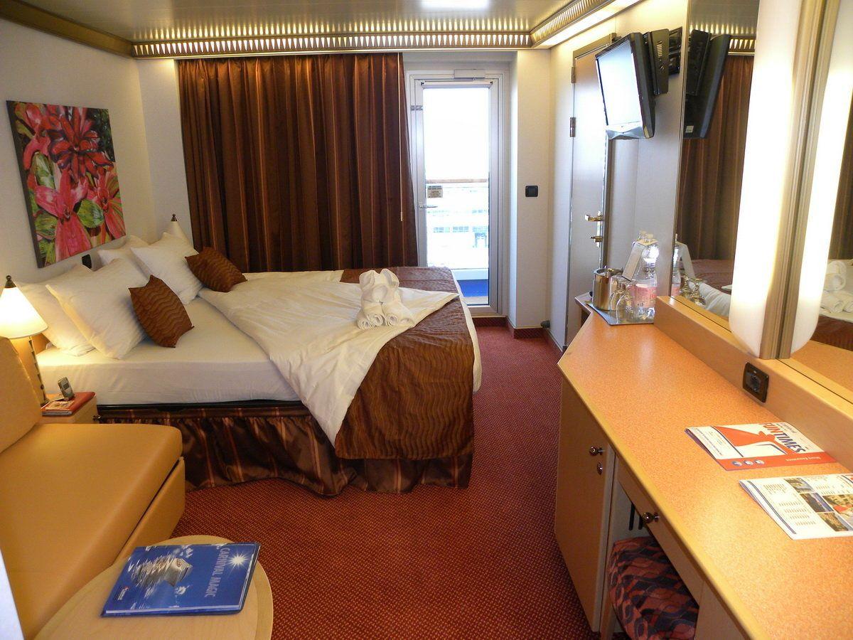 Carnival magic balcony room looks similar to the room my for Cruise ship balcony room