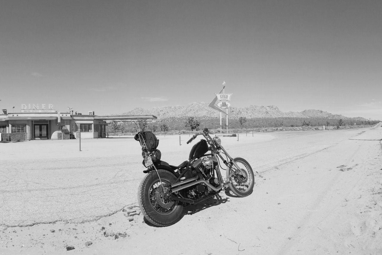 "seestarsfromthegutter: ""Missing the days on the road and this bike….. """