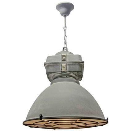 Brilliant industrial hanglamp Anouk xs grille betonlook ...