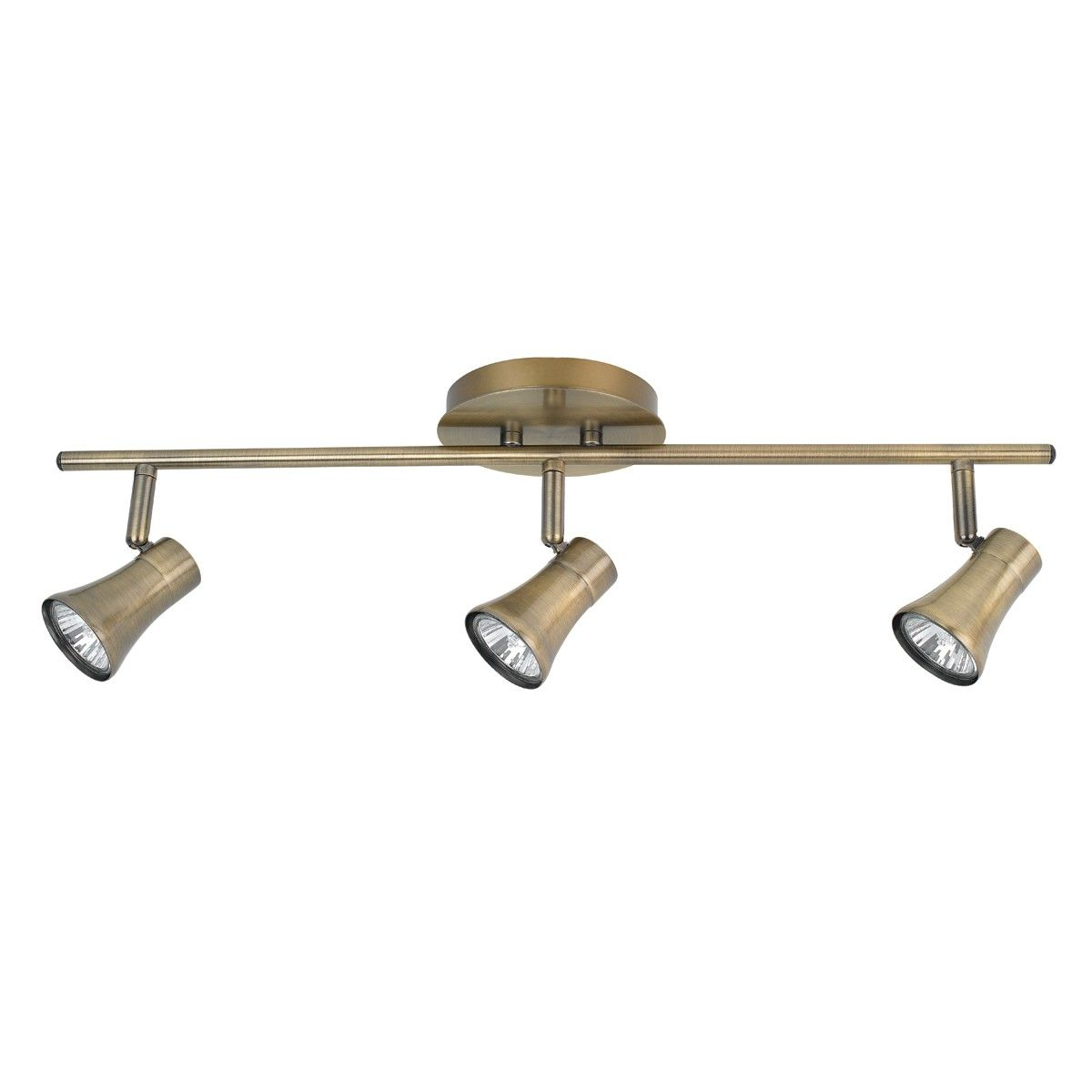 3 Light Track Lighting Kit Antique Brass Finish 4498