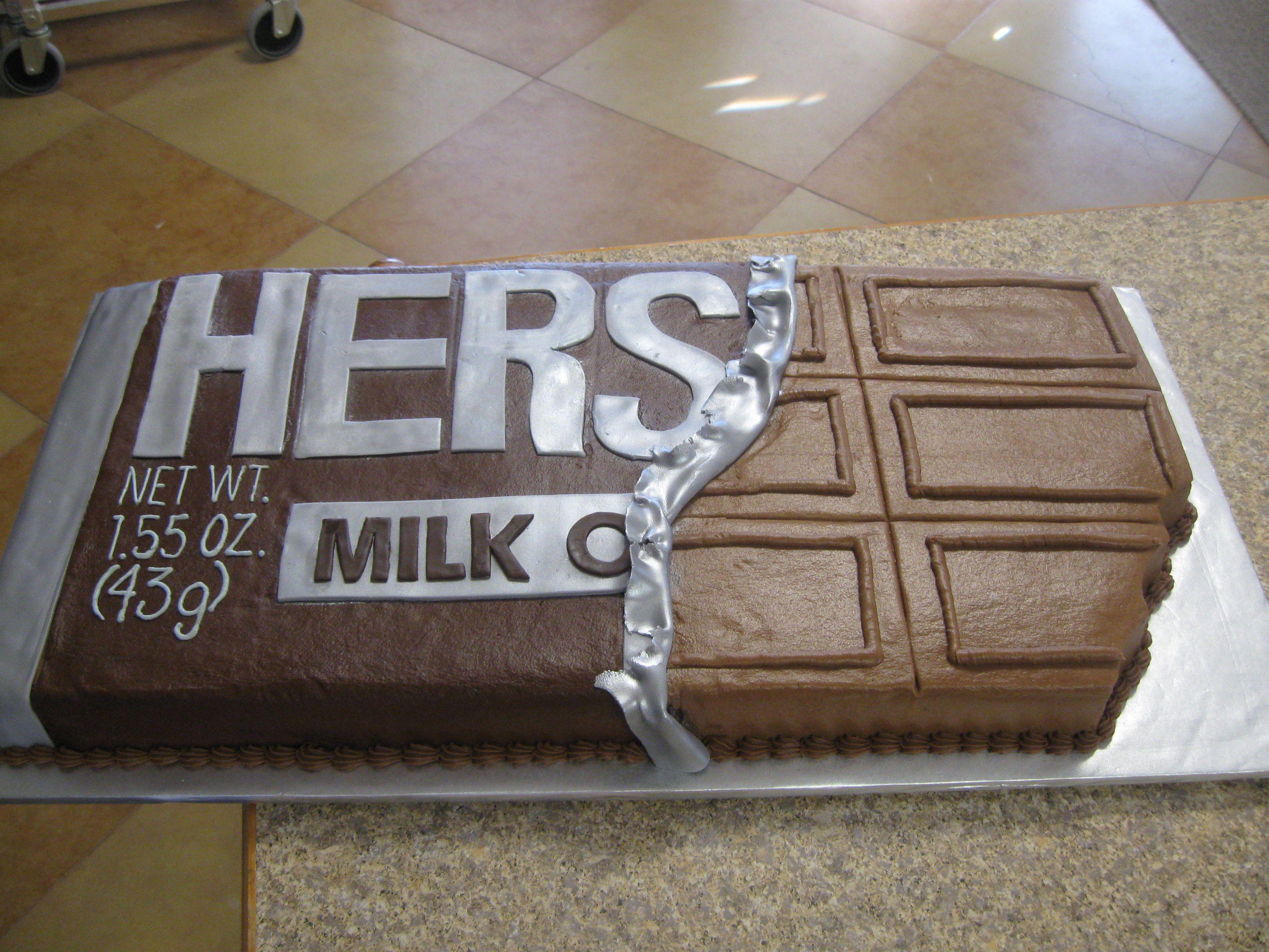 Hershey Bar Cake Lisa S Creative Cakes Pinterest