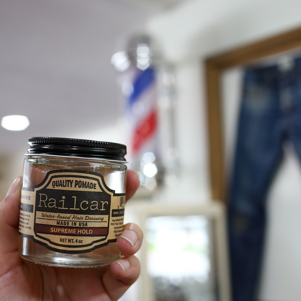 Supreme Hold Hair Pomade Try Our Water Based Formula Supreme Water Based Pomade Hold On