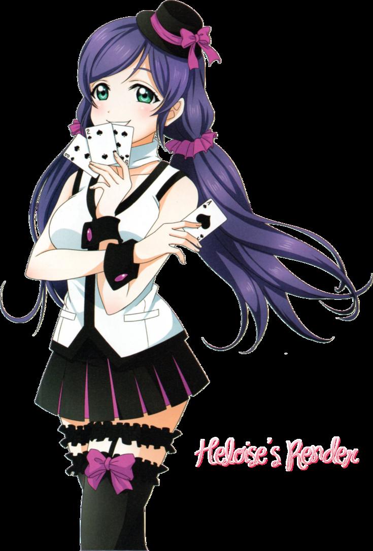 Render 4 Nozomi Toujou Rendering Anime Pics