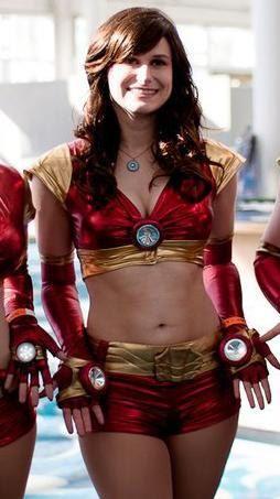 Iron Man 2 Ironette Costume By Peachykiki On Etsy