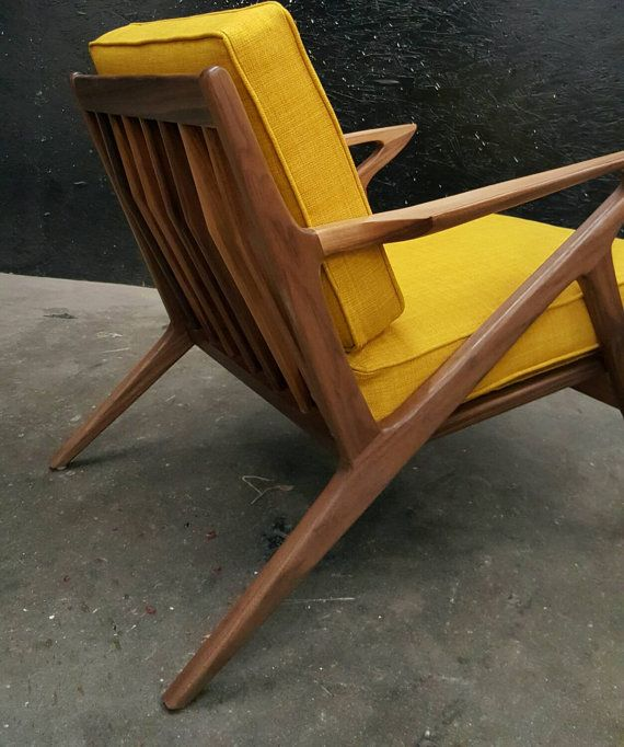 Pleasant Mid Century Selig Style Z Chair Dallas Living Room Chair Beutiful Home Inspiration Cosmmahrainfo