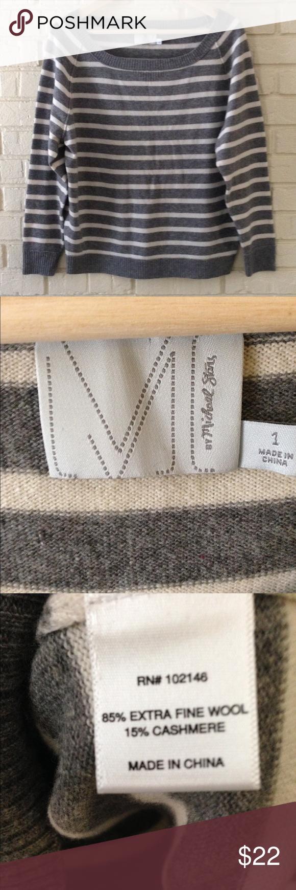 Wool and cashmere Michael Stars sweater Bet soft and cozy Michael Stars sweater! Size 1. Fits small to medium. Michael Stars Sweaters Crew & Scoop Necks