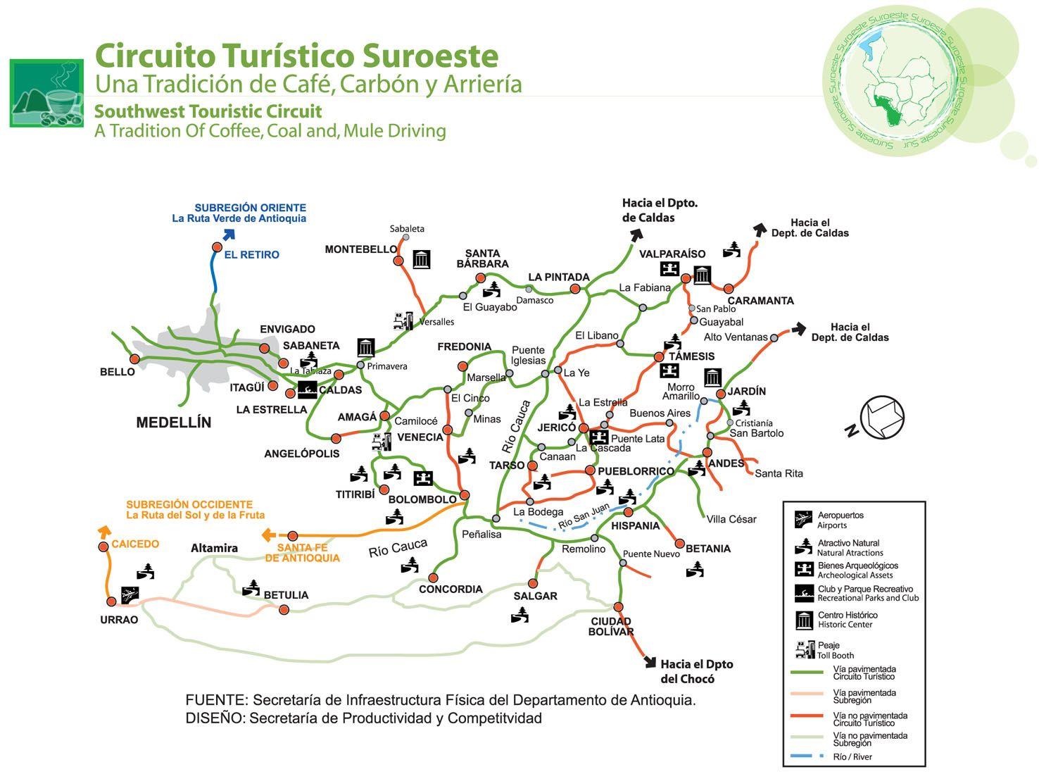 Circuito Turistico : Circuito turistico noroeste paulista pdf flipbook