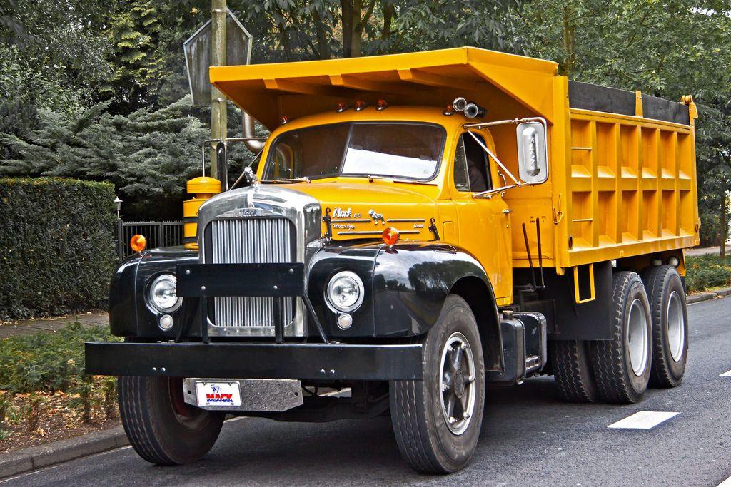Mack B61 Tipper 10 1964 5717 Mack Trucks Dump Trucks Trucks